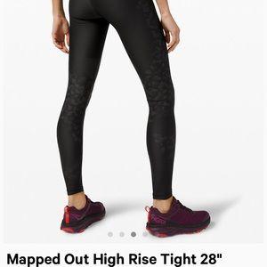 Lululemon Mapped out high rise leggings